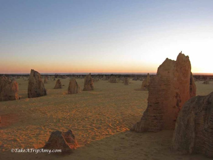 The Pinnacles Desert, Nambung National Park, Western Australia - Take a Trip Amy