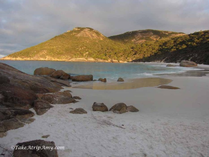 Roadtrip: Perth to Alabany. Australia's Southwest: Little Beach at Two People's Bay Nature Reserve
