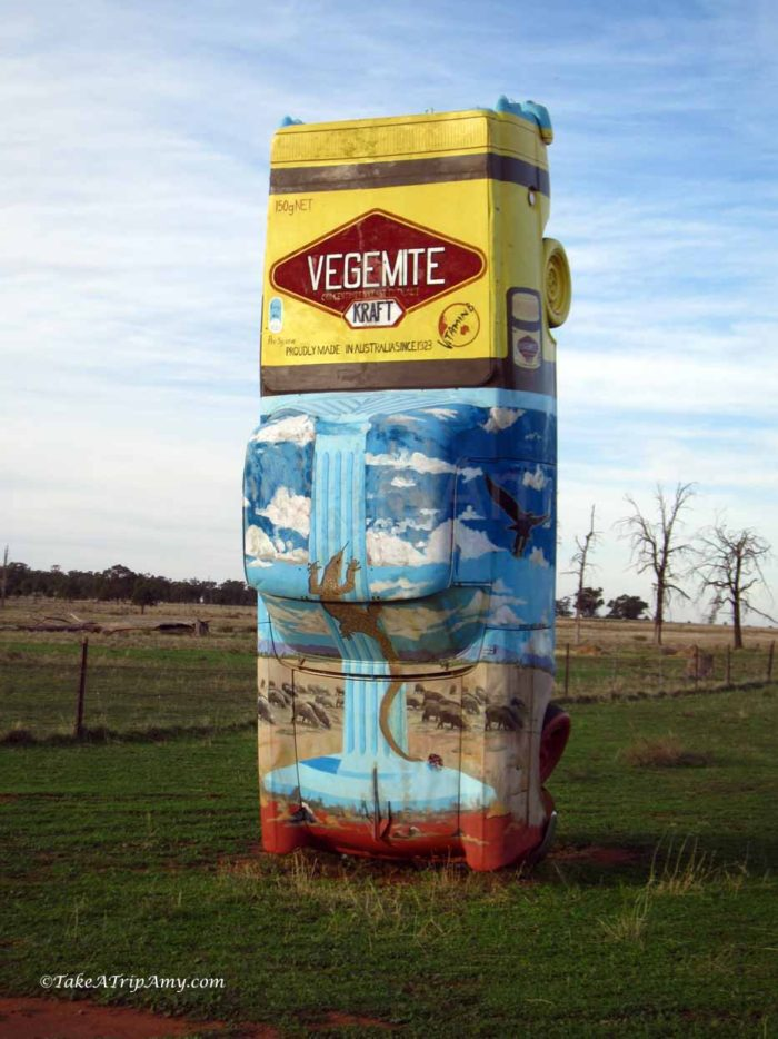 Go Vegemite Ute, Utes in the Paddock, Ootha, NSW, Australia