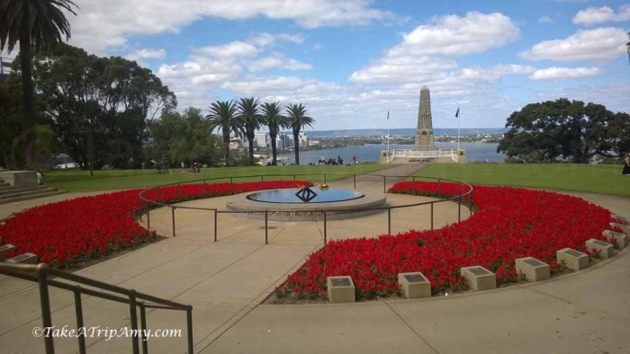 War Memorial, Kings Park, Perth, Western Australia