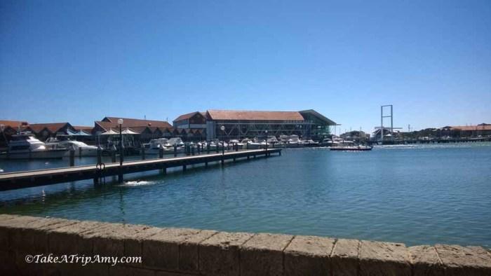 Hillarys Boat Harbour in Hillarys, Western Australia