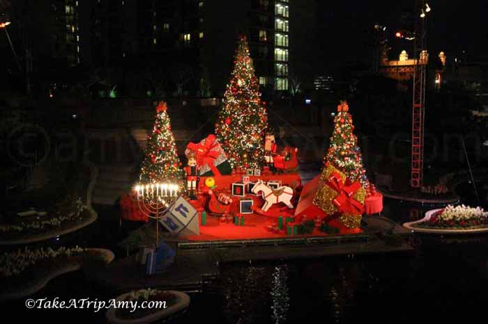 Calfornia Plaza for Christmas, Los Angeles, California, United States