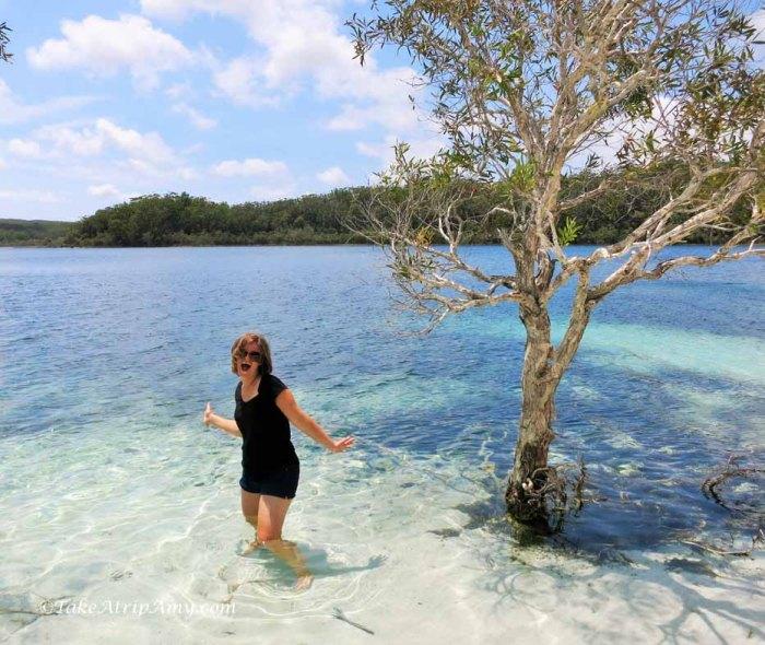 Lake Mackenzie, Fraser Island, QLD, Australia