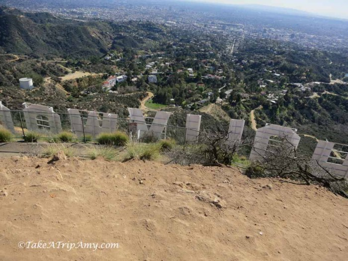 Mount Hollywood's sign at Griffith Park, Los Angeles, California, United States