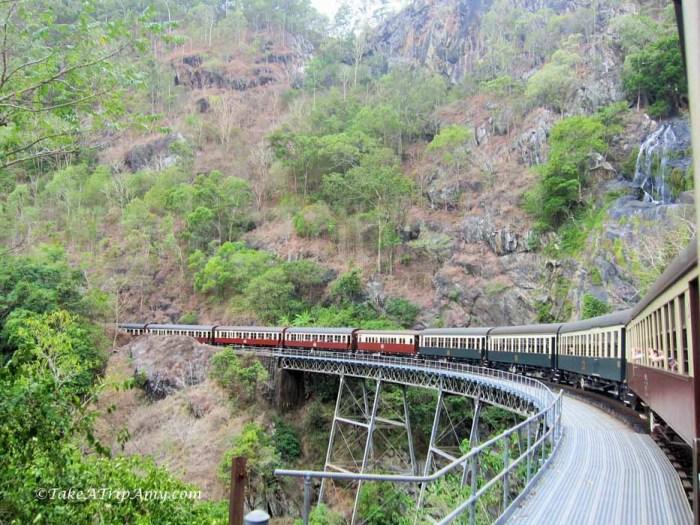 Train Ride, Kuranda, QLD, Australia