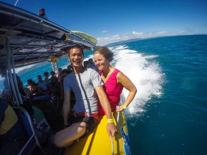Adventure Tour of the Whitsunday Islands from Airlie Beach, QLD, Australia