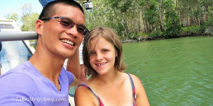 Noosa Everglades River Cruise, Queensland, Australia