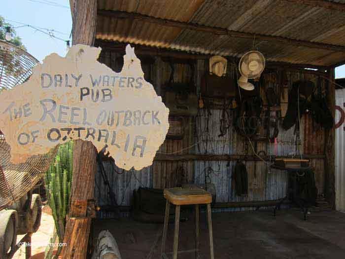 Daly Waters Pub,  Northern Territory, Australia