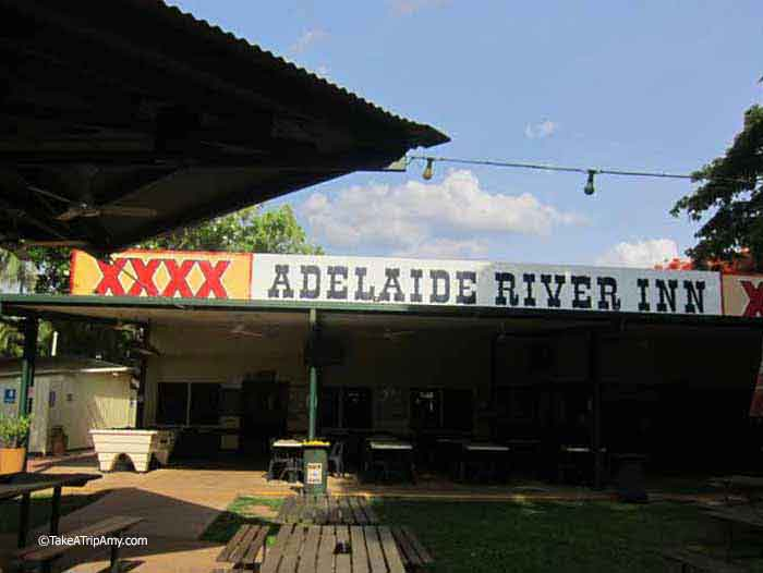 Adelaide River Inn, the pub featured in the Crocodile Dundee, Northern Territory, Australia