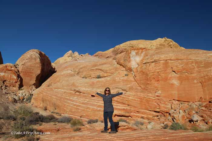 White Domes hike, Valley of Fire State Park, Nevada, United States