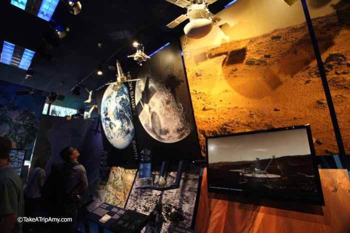 Museum atJet Propulsion Laboratory, Pasadena, California