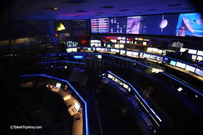 JPL Mission Control Center
