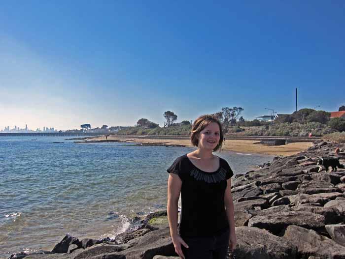 Brigton Beach to St. Kilda coast walk, Victoria, Australia