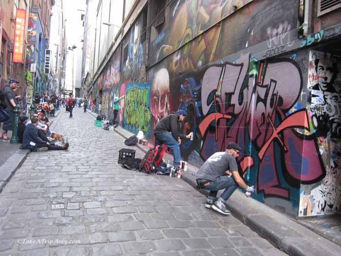 Hosier Lane, Melbourne, Victoria, Austalia
