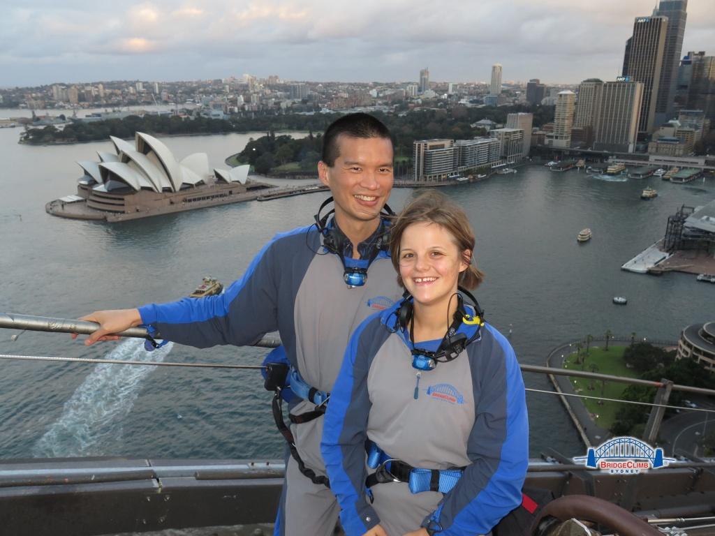 Climbing the Sydney Harbour Bridge with BridgClimb Sydney