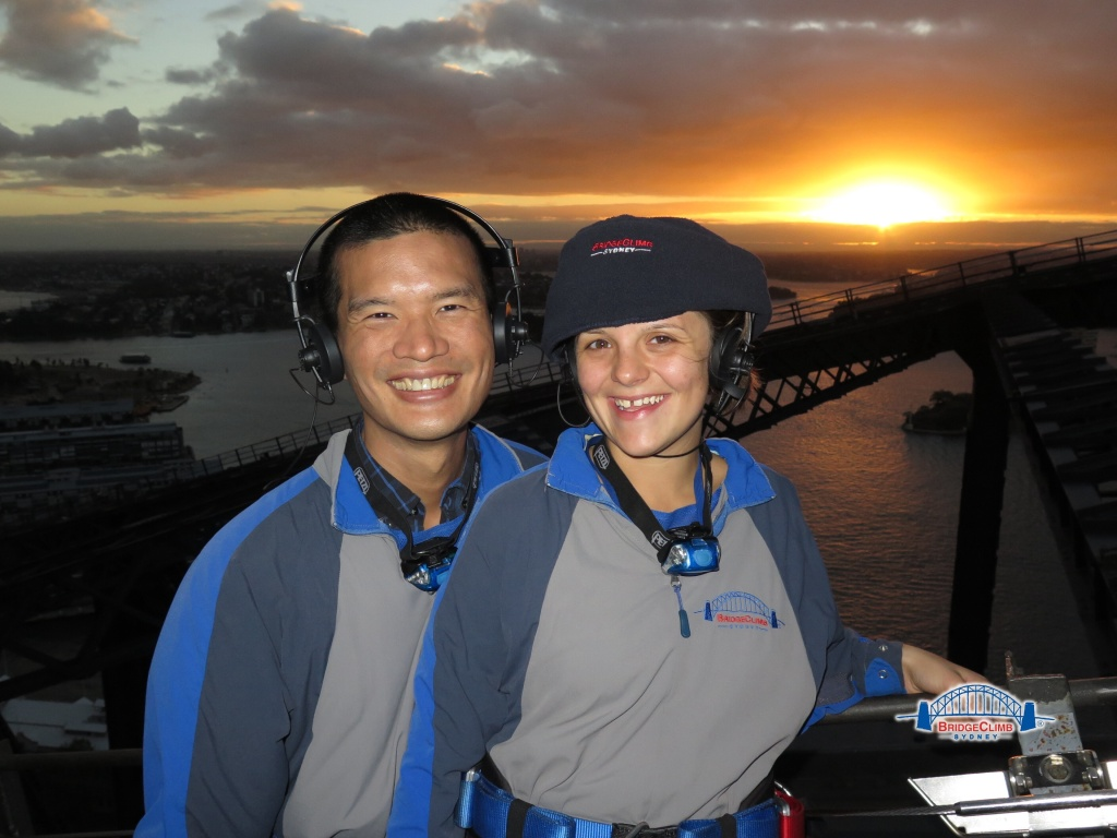 Bridge Climb Sydney Harbour Bridge