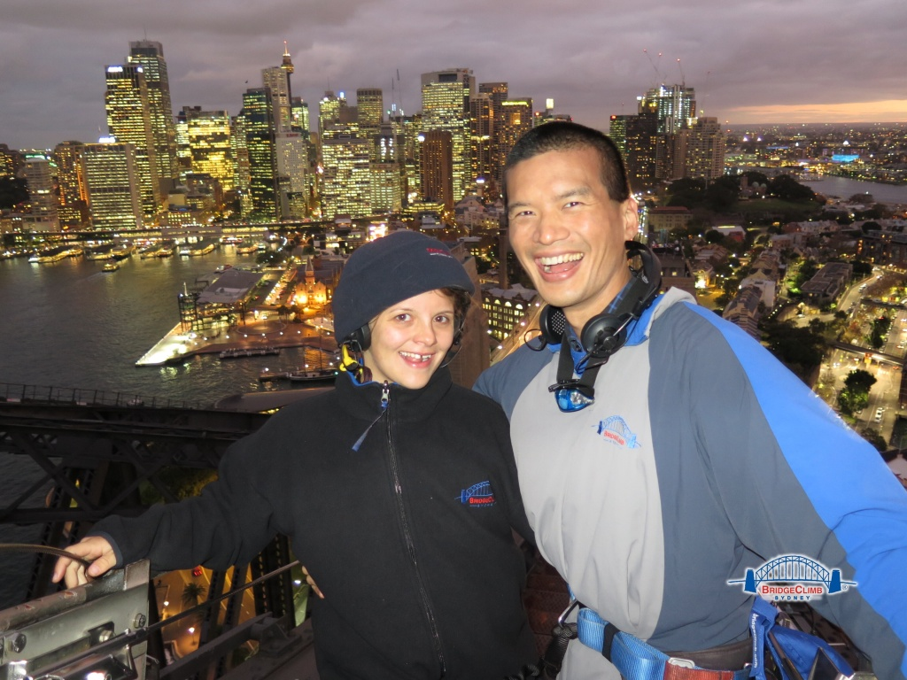 Climbing the Sydney Harbour Bridge with BridgClimb Sydney
