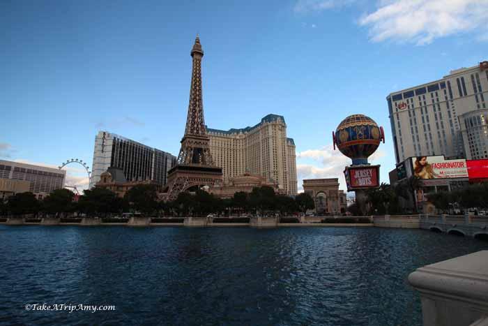 Eiffel Tower Restaurant in Paris Las Vegas