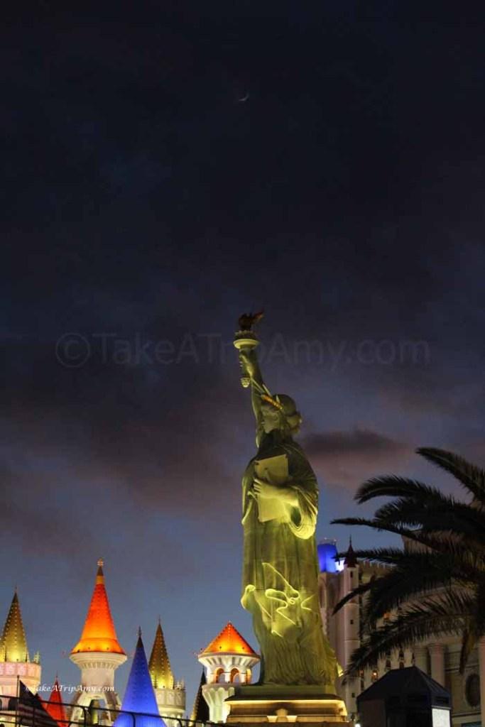New York, New York Statue of Liberty in Las Vegas, NV, USA