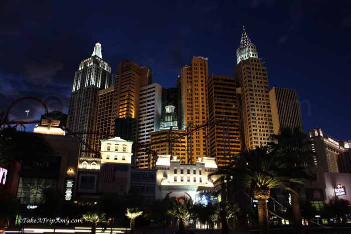 New York. New York in Las Vegas, NV, USA