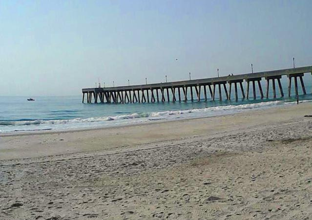 Johnnie Mercer's Pier at Wrightsville Beach , NC