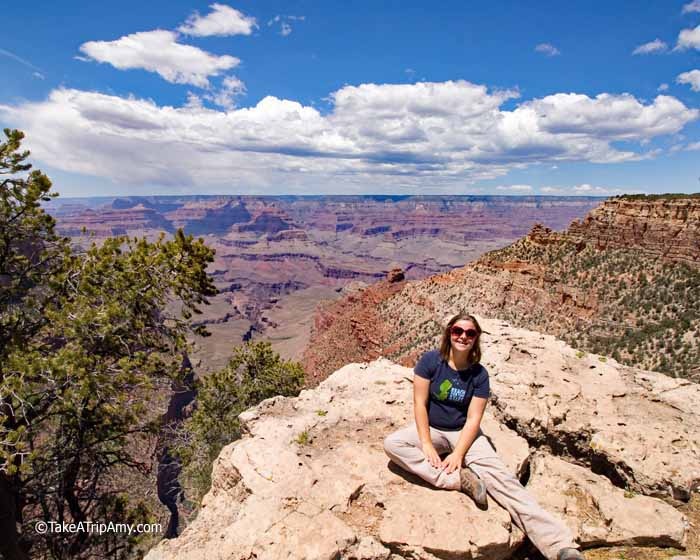 The Rim Trail, Grand Canyon National Park, AZ, USA