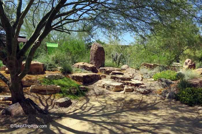 Botanical Garden at Springs Preserve in Las Vegas, Nevada , USA