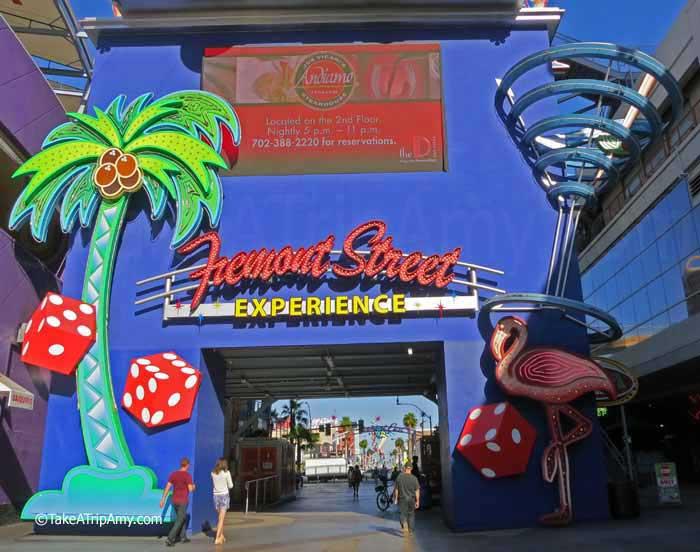 Fremont Street Experience , Downtown Las Vegas, Nevada, USA